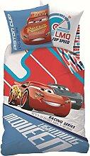 Wende Bettwäsche Set Disney Cars 3 135x200cm +