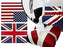 Wendedecke mit Flaggenmotiv – Großbritannien