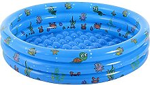 WENFAN Aufblasbarer Pool, Kinder Planschbecken,
