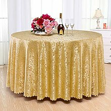WENJUN Große Runde Tischdecke Party Restaurant