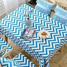 WENJUN Rechteckige Plaid Tischdecke Für Home