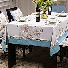 WENJUN Rechteckige Tischdecke Für Home Küche