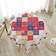 WENJUN Runder Durchmesser (rund) Tischdecke. Ideal
