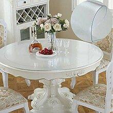 WENJUN Runder Tisch Tischtuch Wasserdicht Rund