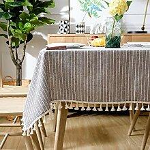 WENJUN Tischdecke Couchtisch Handtuch Mit