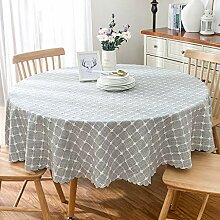 WENJUN Tischdecken, Karierte Tischdecke Wischbare