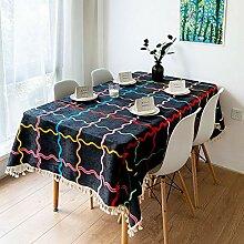 WENJUN Tischdecken, Quadratische Verdickung