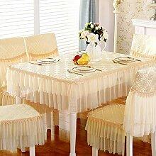 WENJUN Tischdecken, Übergröße Solide Polyester