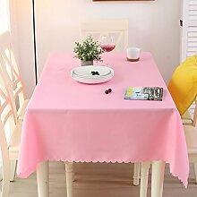 WENJUN Tischdecken, Weiße Tischdecke, Tischdecke