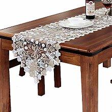 WENJUN Tischläufer, Spitze, Vintage-Spitze,