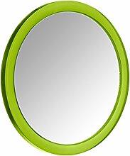 WENKO 20598100 Vergrößerungs-Kosmetikspiegel Pistoia Grün, Kunststoff, 3.5 cm, Grün