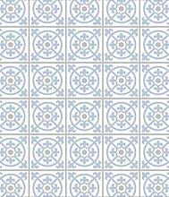 Wenko 2713150100 Glasrückwand Fliesen Blau,