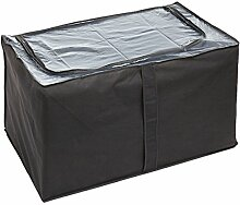 WENKO 4380711100 Jumbo-Box Libertà, 100 % Polypropylen, 91 x 48 x 53 cm, Grau