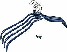 Wenko - 4er Set Kleiderbügel Hosenbügel