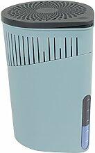 Wenko 50241100 Design Raumentfeuchter Drop 1000 g Luftentfeuchter, Fassungsvermögen 1.6 L, 15 x 23 x 15 cm, türkis