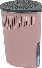 Wenko 50242100 Design Raumentfeuchter Drop 1000 g Luftentfeuchter, Fassungsvermögen 1.6 L, 15 x 23 x 15 cm, rosa
