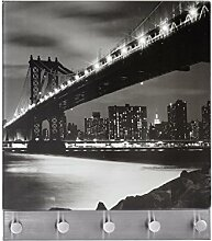 Wenko 50402100 Hakenleiste Manhattan Bridge - 5