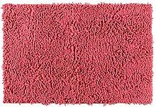 Wenko Badteppich Polyester, orange, 80 x 50 cm