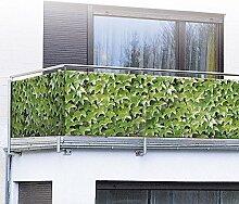 WENKO Balkonumspannung Sichtschutz Wilder Wein