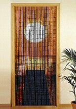 Wenko Bambusvorhang Sonnenuntergang, 90x200 cm