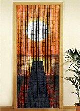 Wenko Bambusvorhang Sonnenuntergang