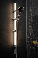 WENKO Duschstange LED, mit warmweißer