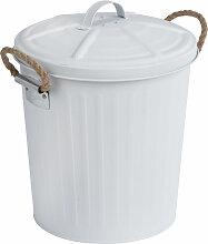 WENKO Kosmetik Eimer 6 L Müll Abfall Papier Korb