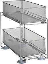 Wenko Küchen-Schrank-Ordnungssystem, Gitter-Regal