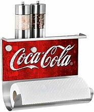 Wenko Magn.Rollenh.m.Ablage Coca-Cola Classic,