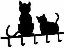 WENKO Schlüsselboard Katzen