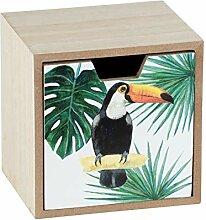 WENKO Schubladen-Box Tucan, Aufbewahrungsbox mit