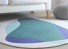 WENRIT® Runde Teppich geformt Wohnzimmer Teppich