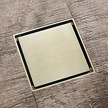 Wenwen Kupfer-Bodenablauf, Deodorant,