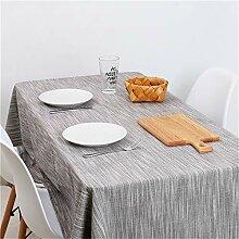 WENXIAOXU abwaschbar Tischdecke Tischtuch mit