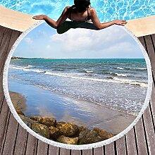 WENXIAOXU Strandtuch aus schnelltrocknendem