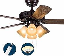 WENYAO Deckenventilator Licht Fan Lampe Restaurant