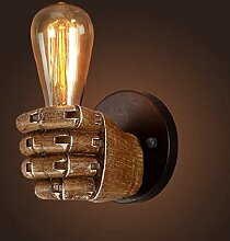 WENYAO Loft Faust Form Wandleuchte Licht Lampe