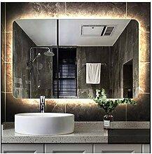 WENYAO Spiegel badezimmerspiegel rahmenlose Lampe