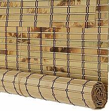 WENZHE Bambusrollo Fenster Sichtschutz Rollos