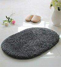 WENZHE ditan Absorbent Matten Fußmatte Küche Schlafzimmer Runde Anti-Rutsch-Fuß Teppich Bereich Teppich ( Farbe : G , größe : 45*70CM )