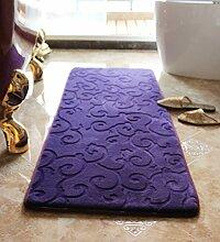 WENZHE ditan Badezimmer-Türmatte Rutschfeste wasserabsorbierende Küche Fußmatten Fußteppich Bereich Teppich ( Farbe : C , größe : 44*62CM )