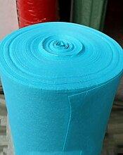 WENZHE ditan Etikette Langer Teppich, Hochzeit 2mm Dicke Einmal-Teppich, Blauer Hintergrund Hintergrund-Tuch, T Bühnenshow-Teppich Bereich Teppich ( größe : 1.2*20m )