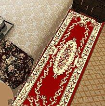 WENZHE ditan Europäische Simple Home Rechteckige Teppich-Pad für Schlafzimmer, Nacht, Küche, Flur, Aisle-Matte, Teppich, Multicolor Optional Bereich Teppich ( Farbe : A , größe : 0.8*.2.0m )