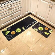 WENZHE ditan Teppiche, Badezimmer Anti-Rutsch-Pad, Bad Küche Matte Fußmatten Teppichboden Matten Bereich Teppich ( Farbe : A , größe : 40*60cm )