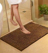 WENZHE ditan Verdickte Türmatten Wohnzimmer Schlafzimmer Nicht rutschfeste Wasser saugfähige Fußmatten Teppich Bereich Teppich ( Farbe : M , größe : 70*140cm )