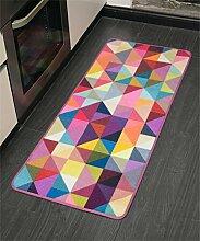 WENZHE European Style Küche Fußmatten Lange Badezimmer Wasserdichte Anti - Rutsch Tür Matten Nachttisch Teppich Bereich Teppich ( größe : 60*40CM )