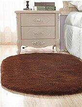 WENZHE Nette Ovale Teppichmatratze Startseite Matte Wohnzimmer Couchtisch Schlafzimmer Teppichboden Bedside Carpet Bereich Teppich ( Farbe : C , größe : 80*160cm )