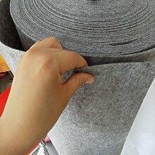 WENZHE Teppich Einweg Hochzeitsteppich Event Teppich Dekoration Feier Ausstellung Rauchgrau, 3 Arten Von Breite, 1,5 / 3 Mm Dick, Wahlweise ( Farbe : Thick 3mm , größe : 1.2*20m )