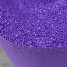 WENZHE Teppich Einweg Hochzeitsteppich Event Teppich Hochzeit Feierlichkeiten 2 Farben, 2 Mm Dick, 3 Arten Von Breite, Wahlweise ( Farbe : Helles Lila , größe : 1*20m )
