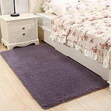 WENZHE Verdickung Waschbarer Teppich Schlafzimmer Bedside Teppich Doormat Bay Fenster Teppich Küche Eingang Badezimmer Anti-Rutsch-Staubdicht Teppich Bereich Teppich ( Farbe : J , größe : 80×160cm )